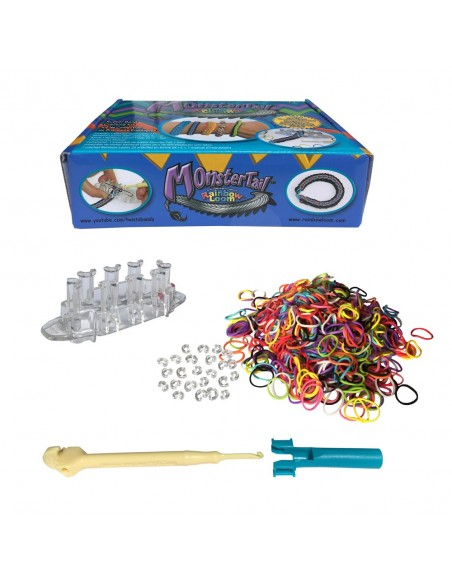 Rainbow Loom Monster Tail Set