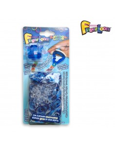 Finger Loom Blau