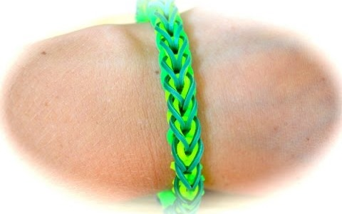 Rainbow Loom French Braid Armband (deutsche Anleitung)
